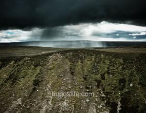 Rain Storm in the hills