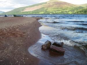 Beach on Loch Tay